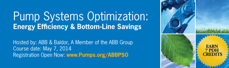 Pump Systems Optimization Course